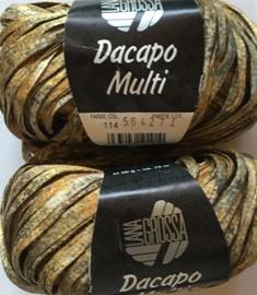 Garnpaket Dacapo Multi Gold-Natur 114 500g
