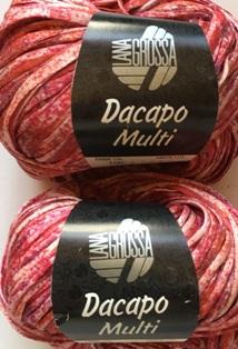 Garnpaket Dacapo Multi Pink-Natur 106 300g