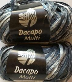 Garnpaket Dacapo Multi Jeans-Natur 115 200g