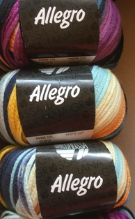 Garnpaket Allegro Fb. 022 450g