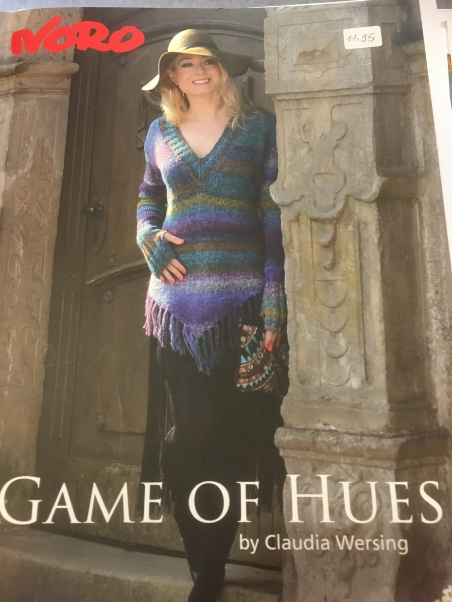 Noro Game of Hues by Claudia Wersing