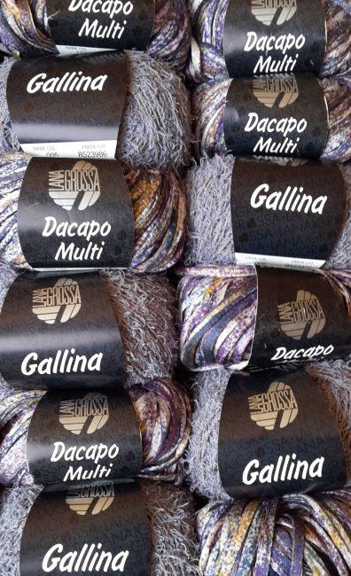 Mixpaket Gallina 005+ Dacapo Multi 105 Violett-Töne 600g