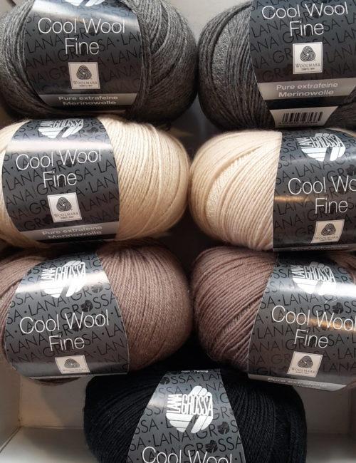 Cool Wool Fine gedeckte Farben 350g